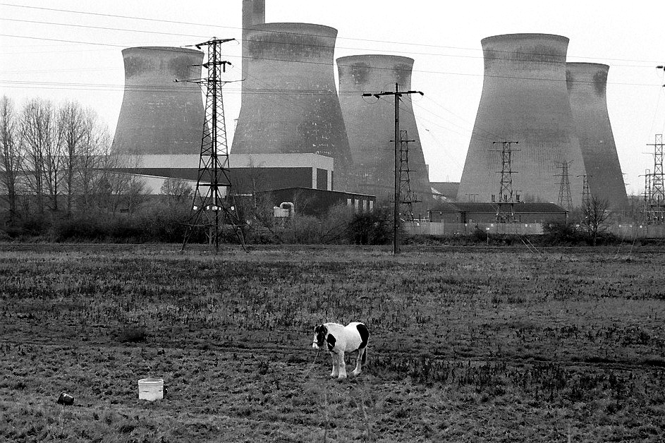 Harbel Photography, The Others - Horse. Horse and Nuclear Power Plant. Vera Fotografia