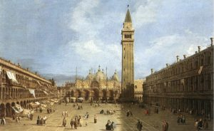 San Marco by Canaletto